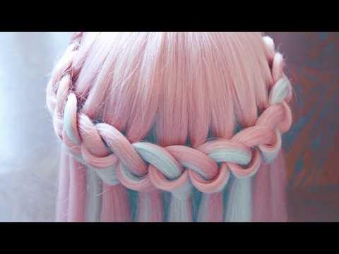 Причёска - Водопад из петелек - Hair tutorial - Hairstyles by REM