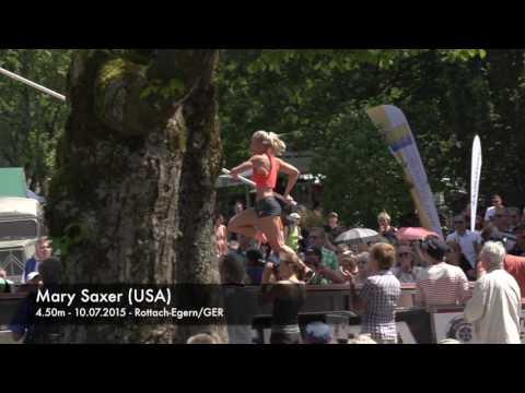 Mary Saxer (USA) - 4.50m - 10.07.2015 - Rottach-Egern/GER