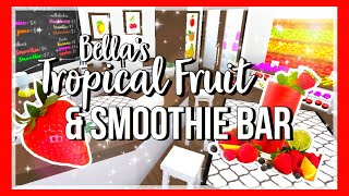 ROBLOX | Bloxburg: Bella's Tropical Fruit & Smoothie Bar ♡