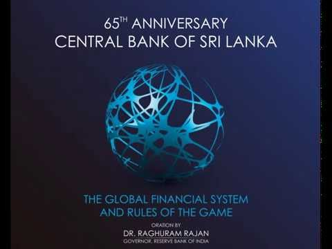 CBSL 65th Anniversary Oration delivered by the Governor, Reserve Bank of India