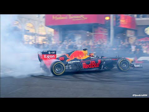 F1 Festival: Hollywood Boulevard PURE SOUND! Donuts & Acceleration!
