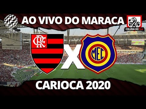 FLAMENGO X MADUREIRA AO VIVO DO MARACANÃ - CARIOCA 2020 - NARRAÇÃO RUBRO-NEGRA