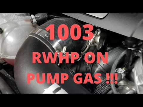 1003 HP ON PUMP GAS!!!!!  HOW DID WE DO IT?!!