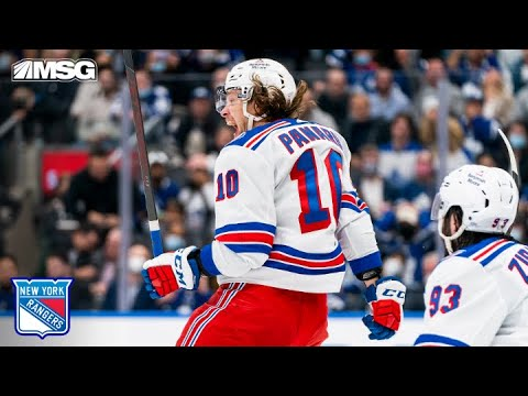 Download Artemi Panarin Scores Crazy First Goal Of Season With Overtime Game Winner | New York Rangers