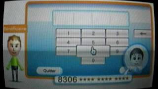 connectez votre wii à internet et bénéficiez de 500 Wii points gratuitement.AVI