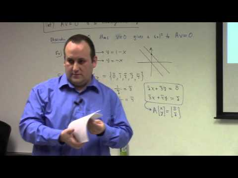 Linear Algebra: Jan 25, systems of equations, Gauss-Jordan Algorithm