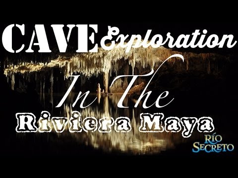 Cave Exploration In The Riviera Maya