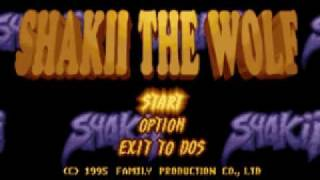 Shakii the Wolf - Track 1