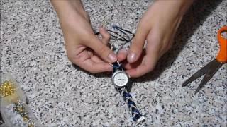 Браслет для часов своими руками