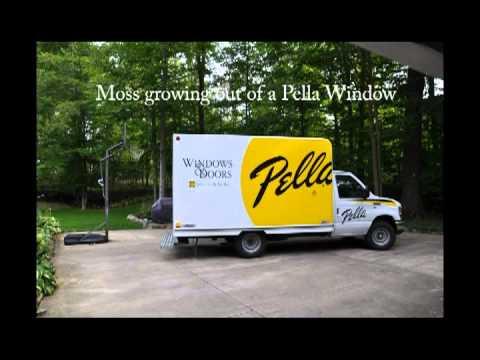 Pella Proline Window Failure