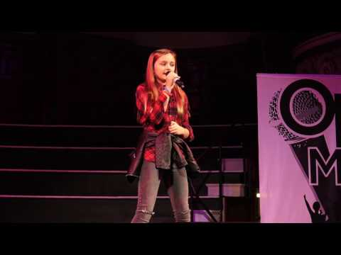 READY OR NOT – BRIDGIT MENDLER performed by REBECCA ATKINSON at Open Mic UK singing contest
