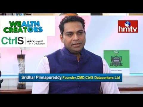 CtrlS Datacenters Ltd.Founder and CMD Sridhar Special Interview | Wealth Creaters | HMTV