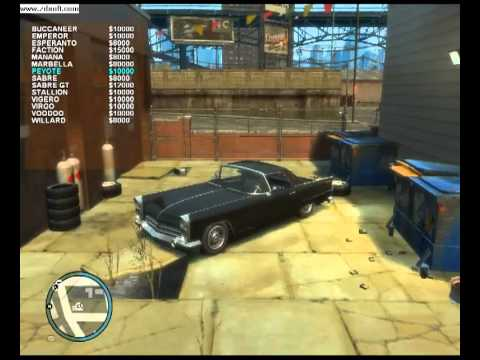 GTA 4 Car Shop Mod ver1 6