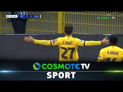 Ιντερ - Μπαρτσελόνα (1-2) Highlights - UEFA Champions League 2019/20 - 10/12/2019 | COSMOTE SPORT