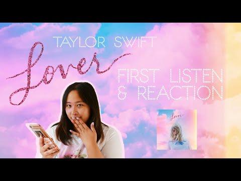 💗taylor-swift---lover-(full-album)-reaction💗