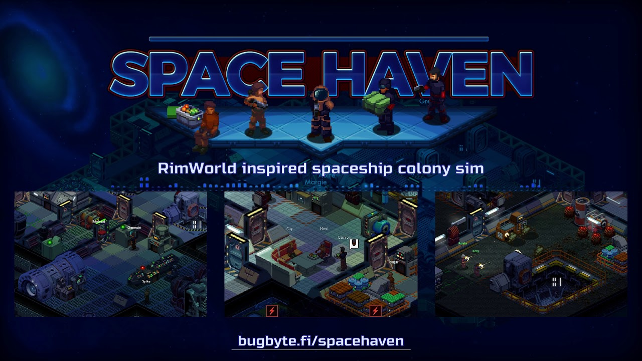 Project Updates for Space Haven on BackerKit Page 1