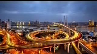 上海南浦大桥景彩