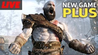 God Of War New Game Plus Gameplay Live