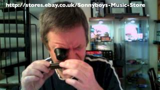 Joe Filisko Low F Customised Hohner Marine Band Harmonica review from playharmonica.co.uk