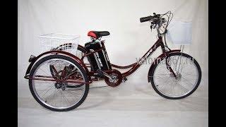 Как собрать Иж Байк Фермер электрический велосипед трехколесный Видео обзор.