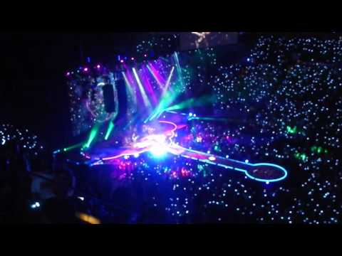 "Coldplay ""A Sky Full of Stars"" in Columbus, Ohio."