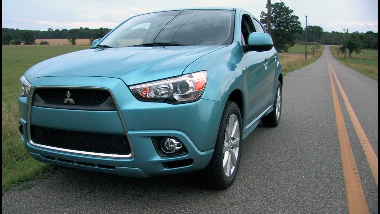 2012 mitsubishi outlander sport review mpgomatic youtube - 2012 Mitsubishi Outlander Se