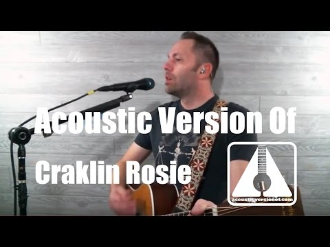 Acoustic version of Cracklin Rosie