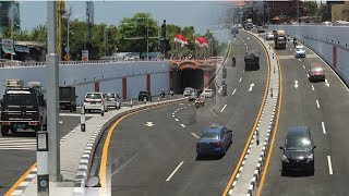 Download Video Uji Coba Underpass Simpang Tugu Ngurah Rai Lancar MP3 3GP MP4