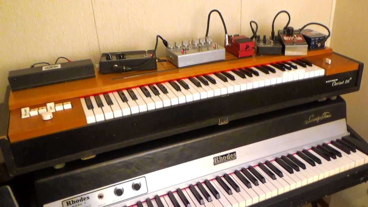 clavinet d6 with effects pedals youtube. Black Bedroom Furniture Sets. Home Design Ideas