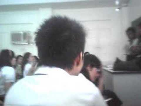 UE Manila ..Video sa CLassroom (Culinary Arts)