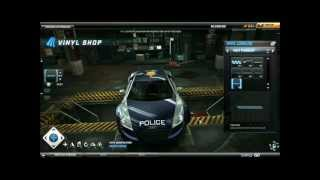 Need For Speed World- Police Vinyls Tutorial