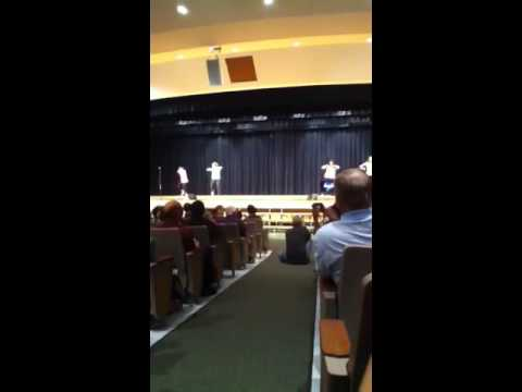 -TEACHERS DANCING FROM SKYVIEW UPPER ELEMENTARY SCHOOL-