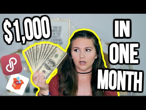 How To Make Over $1,000 Per Month Selling on Poshmark & Merc