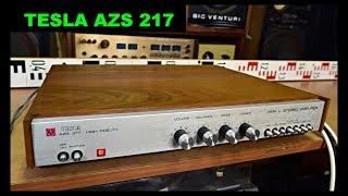 Tesla AZS 217 stereo zesilovač - Top Vintage Tesla Amplifier Verstärker wzmacniacz