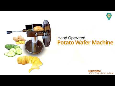 Manual Potato Wafer Machine | Potato Chips Machine | Call Now - 03436610100
