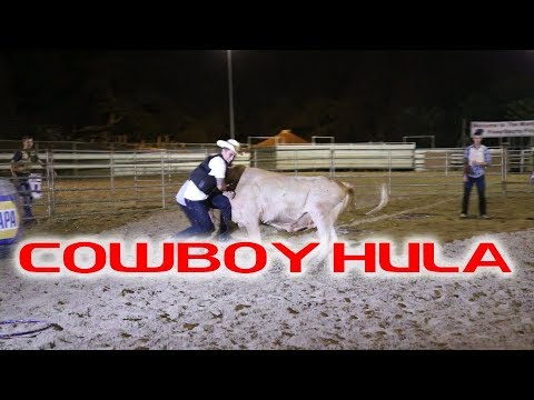 Rodeo 2017 Cowboy Hula All American Rodeo Hawaii Youtube