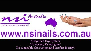 Simplicité Dipping / Sprinkle System, How To Do easy nails ~ NSI ~ NSI Australia