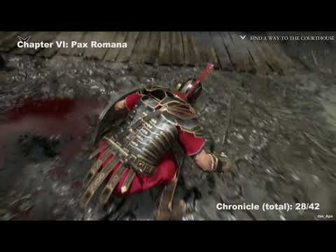 Ryse: Son of Rome - All Chronicles Locations Guide - All Chapters