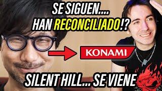 INCREÍBLE 😨 Kojima hace las PACES con KONAMI? Silent Hill ES REALIDAD?