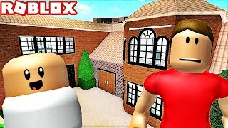 HIDE-AND-SEEK WITH THE WORST BABY IN A GIANT HOUSE! Roblox