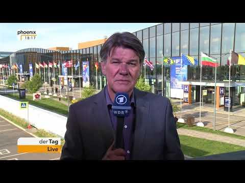 Udo Lielischkies aus St. Petersburg zum Internationalen Wirtschaftsgipfel am  24.05.2018