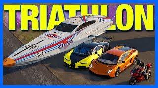 The Crew 2 Online : TRIATHLON!!