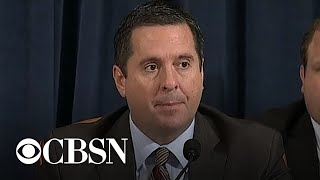 Devin Nunes slams the media in opening statement