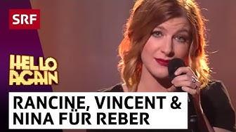 Francine Jordi, Vincent Gross und Nina Reber:  Peter Reber Medley | Hello Again! | SRF Musik