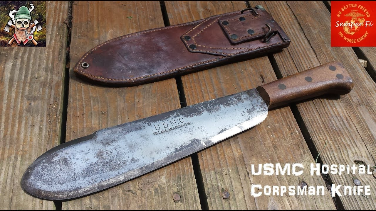 WW2 USMC Hospital Corpsman Knife
