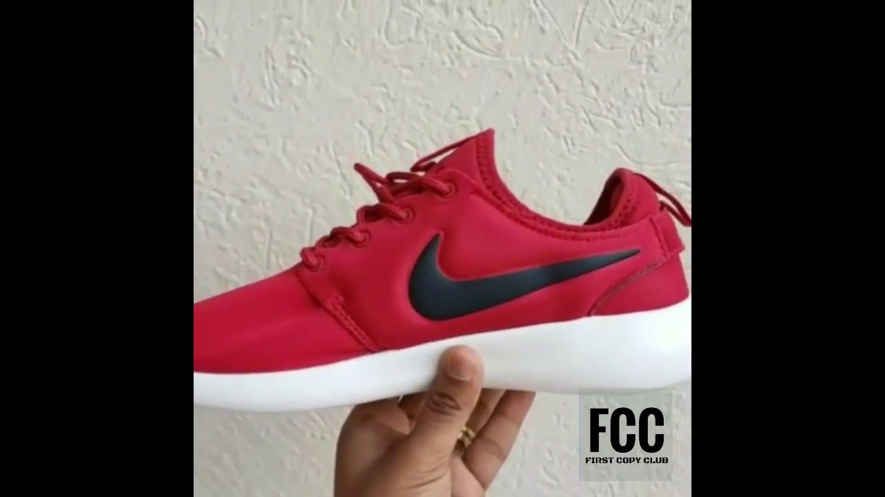 How to get first copy Nike Roshe Red color shoes in insta