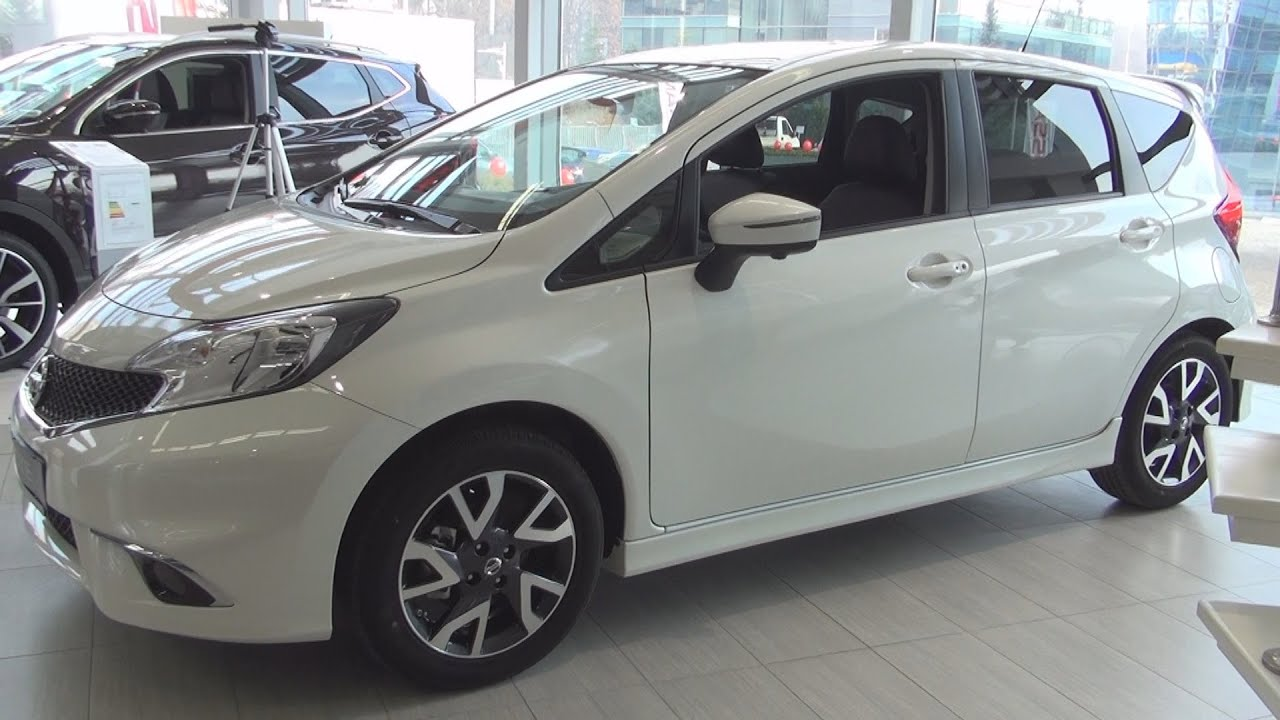 Nissan Note Acenta Connect Exterior and Interior in 3D