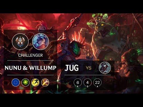 Nunu & Willump Jungle vs Kayn - EUW Challenger Patch 9.20
