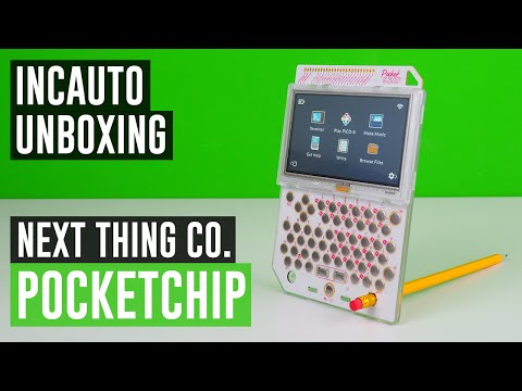 PocketCHIP Unboxing #IncautoUnboxing
