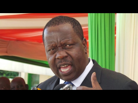 Education Cabinet Secretary Fred Matiang'i on  Universities Audit